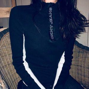 DKNY black sweater